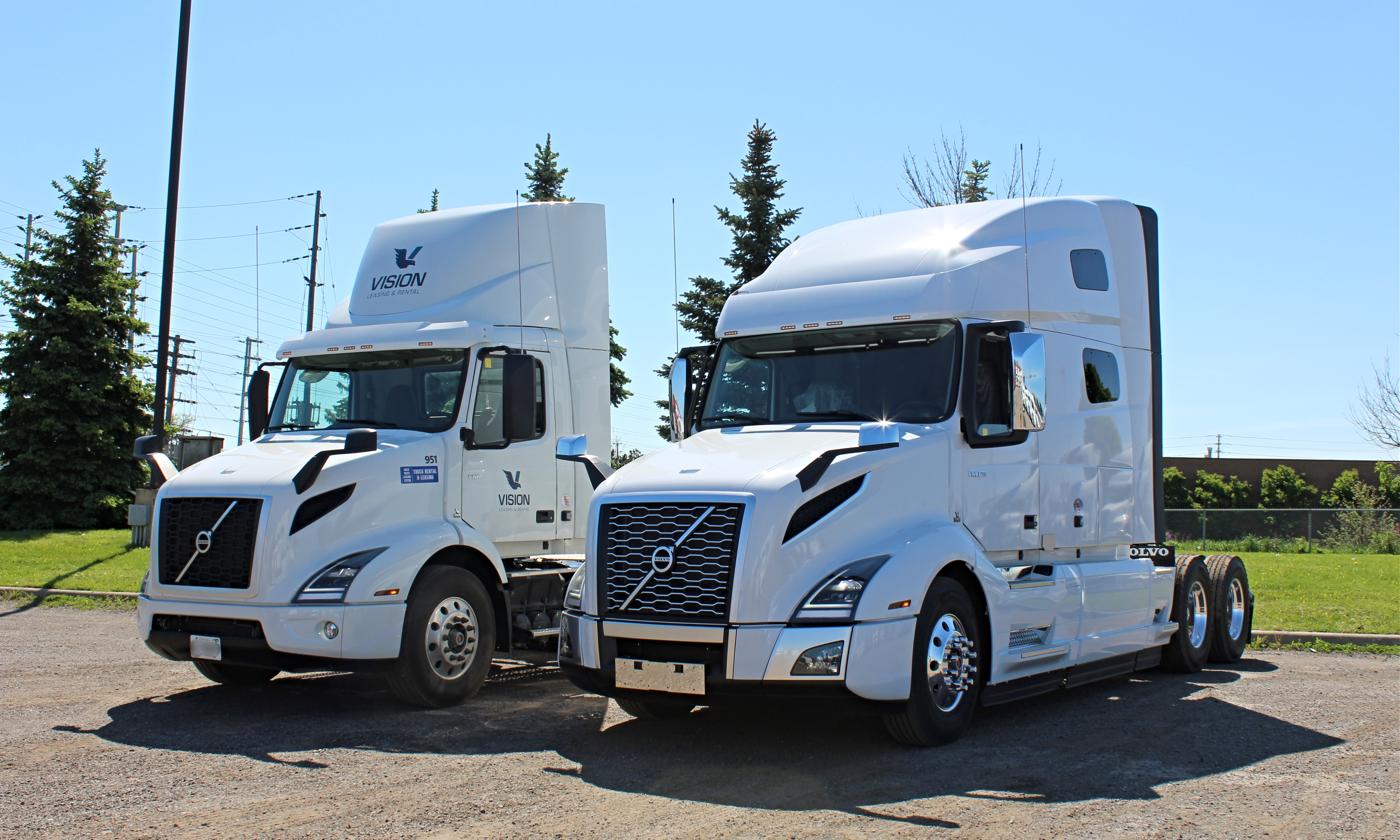 Volvo Day Cab and Sleeper