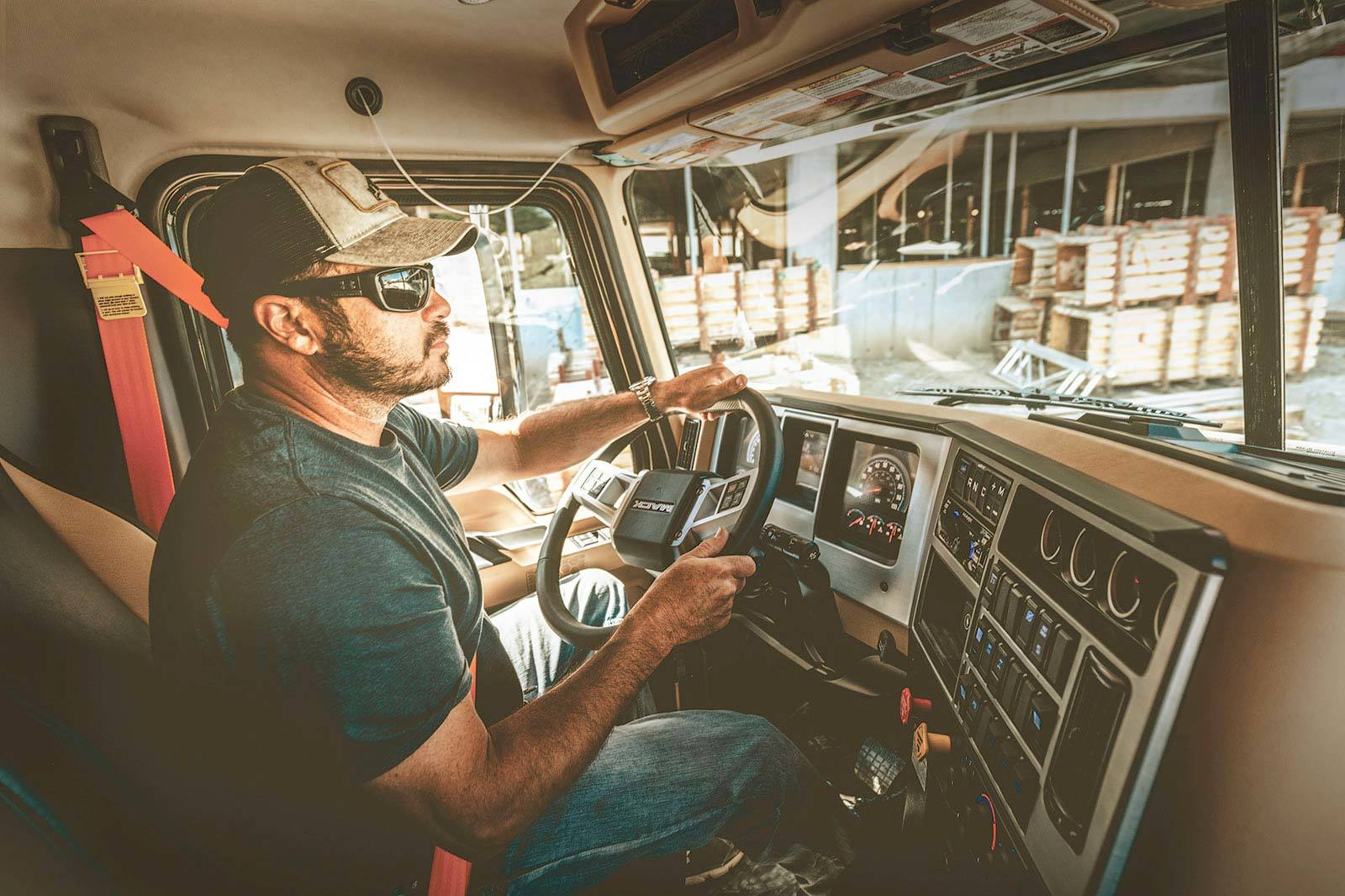 Mack Trucks Tames Driver Strain on the Jobsite with Command Steer for Mack® Granite®