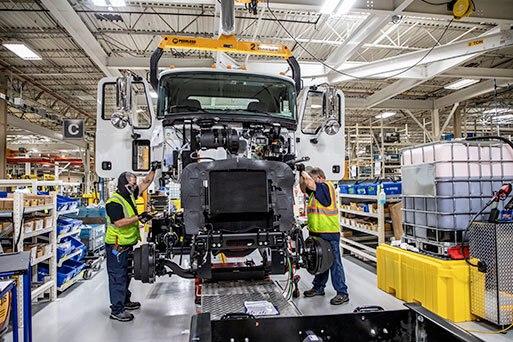Roanoke Valley Operations Begins Full Production of Mack® MD Series