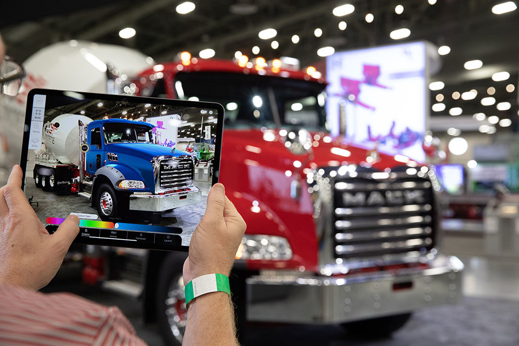 Mack Displays Breadth of Mack® Granite® Model Lineup with Augmented Reality Experience at World of Concrete 2021