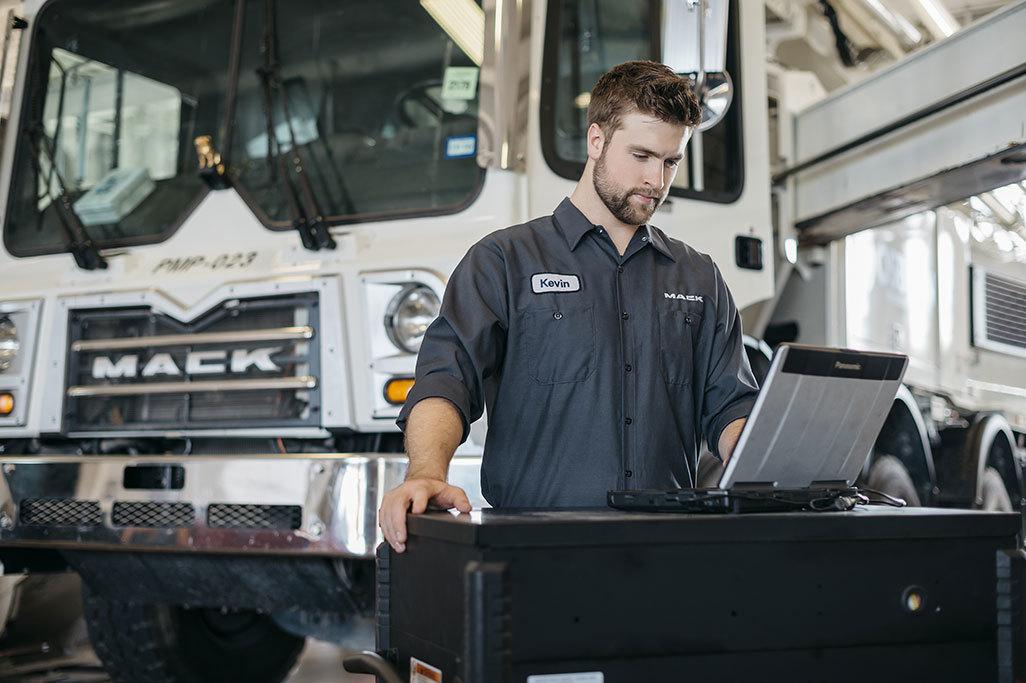 Mack Trucks Puts a Premium on Maximum Uptime